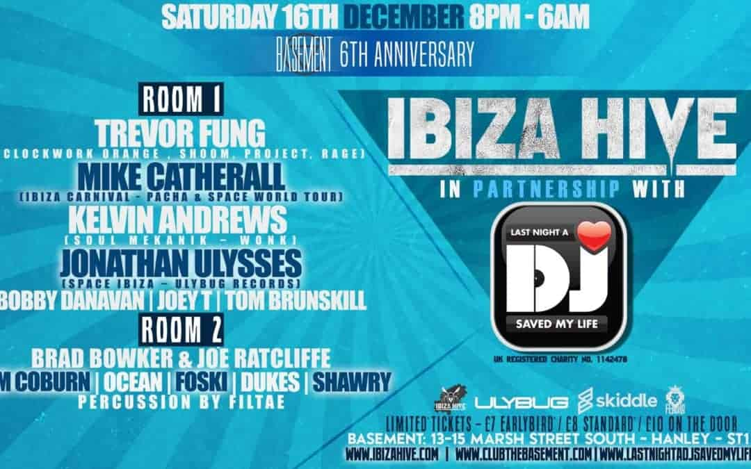 Ibiza Hive at the Basement Club, Stoke raises £1000+ for our Have A Drink On Us campaign
